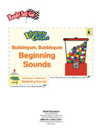 Beginning Sounds - Bubblegum, Bubblegum Literacy Center