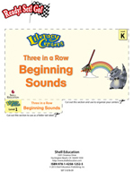 Beginning Sounds - Three in a Row Literacy Center