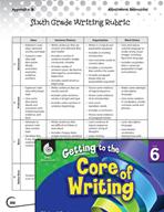 Benchmark Writing Assessment Level 6