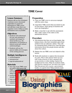 Biography Strategy Lesson - TIME Cover