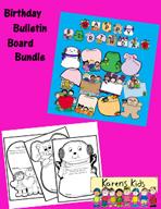 Birthday Bulletin Board Bundle by Karen's Kids