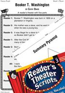 Booker T. Washington Reader's Theater Script and Lesson