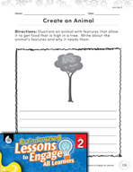 Brain-Powered Lessons - Animal Features