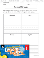 Brain-Powered Lessons - Animal Types