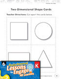 Brain-Powered Lessons - Comparing 2D and 3D shapes