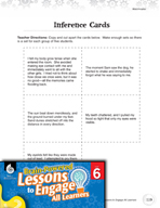 Brain-Powered Lessons - Investigating Inferences