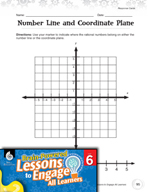 Brain-Powered Lessons - Lines and Planes: Mapping Rational Numbers