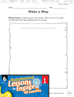 Brain-Powered Lessons - Map Maker