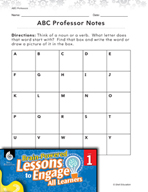 Brain-Powered Lessons - Nouns and Verbs