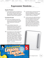 Brain-Powered Lessons - Ordering Math Expressions