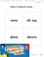Brain-Powered Lessons - Parts of Speech