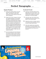 Brain-Powered Lessons - Perfect Paragraphs