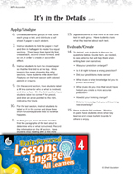 Brain-Powered Lessons - Text Details and Examples