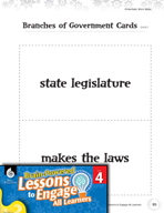 Brain-Powered Lessons - Three Branches of Government