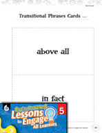 Brain-Powered Lessons - Transitional Phrases