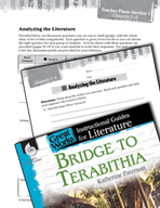 Bridge to Terabithia Leveled Comprehension Questions (Great Works Series)
