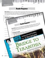 Bridge to Terabithia Reader Response Writing Prompts (Great Works Series)