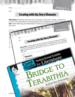 Bridge to Terabithia Studying the Story Elements (Great Works Series)