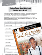 Bud, Not Buddy Making Cross-Curricular Connections (Great Works Series)