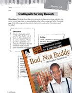 Bud, Not Buddy Studying the Story Elements (Great Works Series)