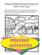 Build an Easter Bunny Art Activity