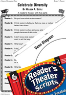 Celebrate Diversity Reader's Theater Script and Lesson