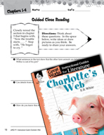 Charlotte's Web Close Reading and Text-Dependent Questions (Great Works Series)