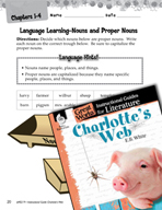 Charlotte's Web Language Learning Activities (Great Works Series)