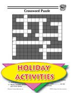 Chinese New Year Activities - Crossword Puzzle and Other Themed Activities