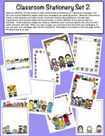 Classroom Stationery Set 2 by Karen's Kids