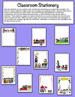 Classroom Stationery by Karen's Kids