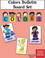 Colors Bulletin Board Set by Karen's Kids