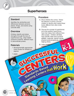 Compare and Contrast - Superheroes Mystery Center