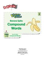 Compound Words - Banana Splits Literacy Center