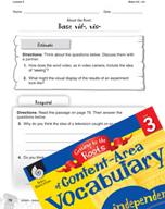Content-Area Vocabulary Level 3 - Base vid-, vis-
