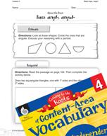 Content-Area Vocabulary Level 4 - Base angl-, angul-