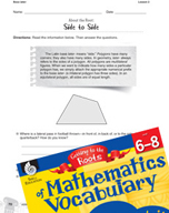 Content-Area Vocabulary Mathematics - Base later-