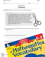 Content-Area Vocabulary Mathematics - Base seg-, sec-, sect-