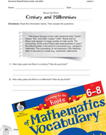 Content-Area Vocabulary Mathematics - Numerical Bases/Prefixes