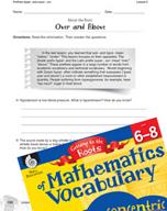 Content-Area Vocabulary Mathematics - Prefixes hyper- and