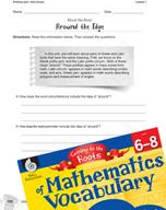 Content-Area Vocabulary Mathematics - Prefixes peri- and circum-