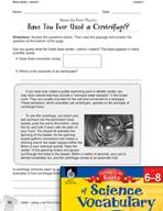 Content-Area Vocabulary Science - Base center-, centr(i)-