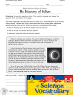 Content-Area Vocabulary Science - Parallel Bases heli(o)- and sol-
