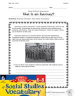 Content-Area Vocabulary Social Studies - Base -crat, -cracy