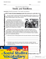 Content-Area Vocabulary Social Studies - Bases bell- and pac-