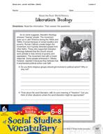 Content-Area Vocabulary Social Studies - Bases serv-, servat- and liber-, liberat-