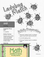 Counting - Ladybug Match Game