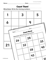 Counting and Cardinality: Counting Practice