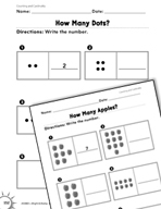 Counting and Cardinality: How Many? Practice