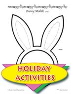 Create an Easter Bunny Mobile Art Activity